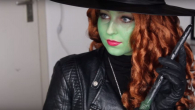 Zelena - Once Upon A Time carnaval schmink tutorial video